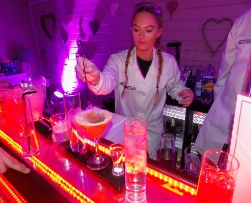 Alderly edge, cocktails, event planner