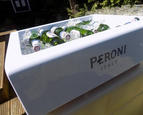 event bars, peroni